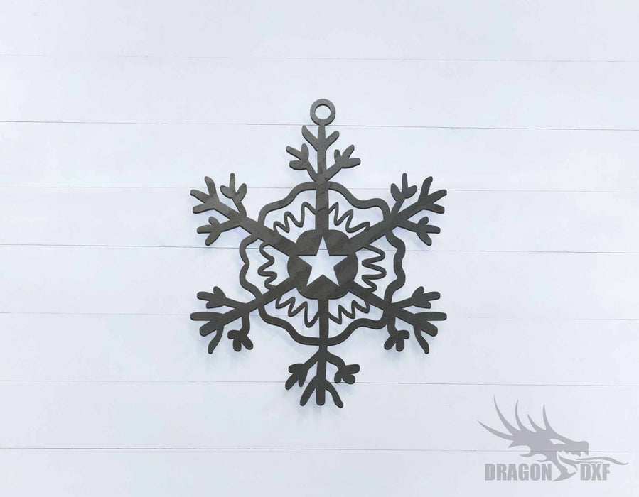 Christmas Star 3 - DXF Download