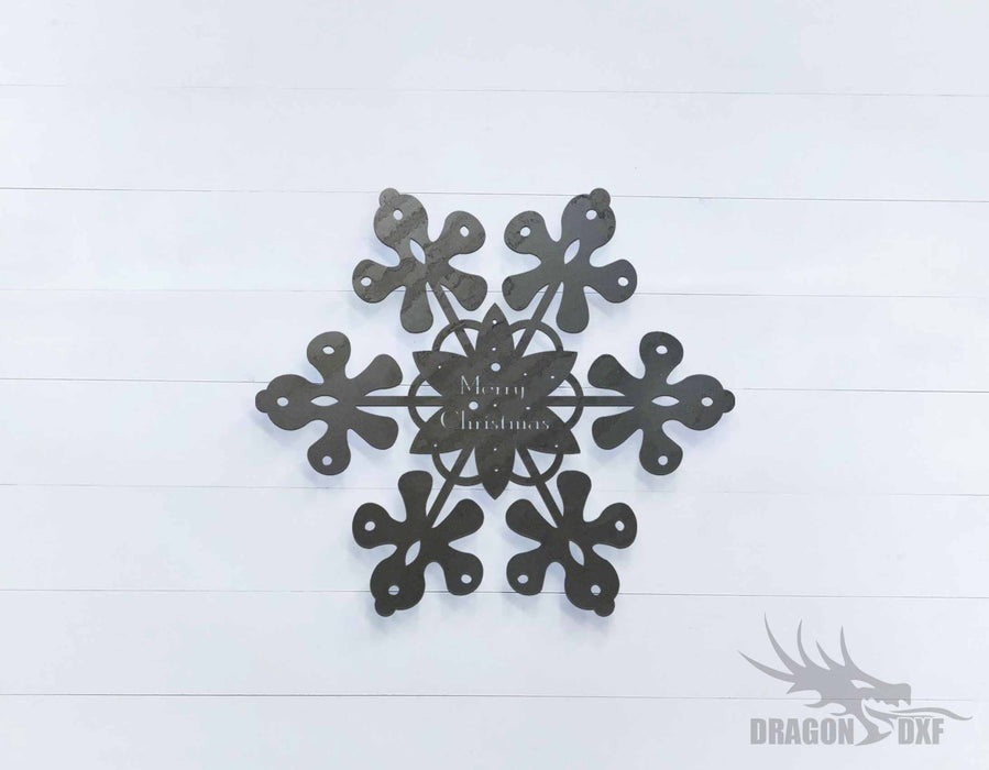 Christmas Star 5 - DXF Download