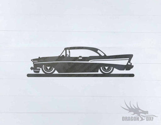 Classic Car 1957 Chevy - DXF Download