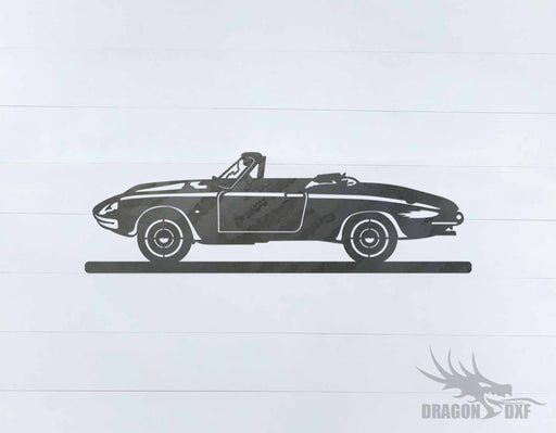Classic Car 1966 Alfa Romeo Spider Duetto - DXF Download