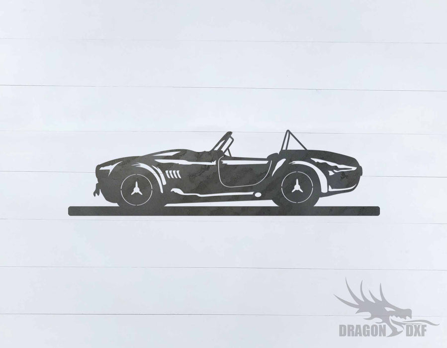 Classic Car 1966 Shelby Cobra - DXF Download