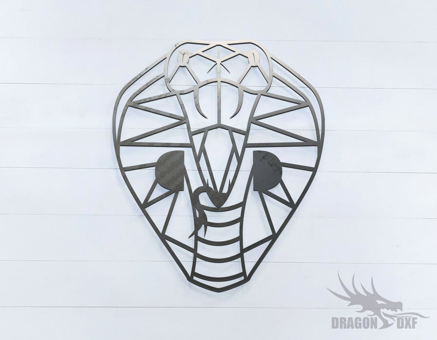 Cobra- Geometric - Deco - Animals -  DXF Download