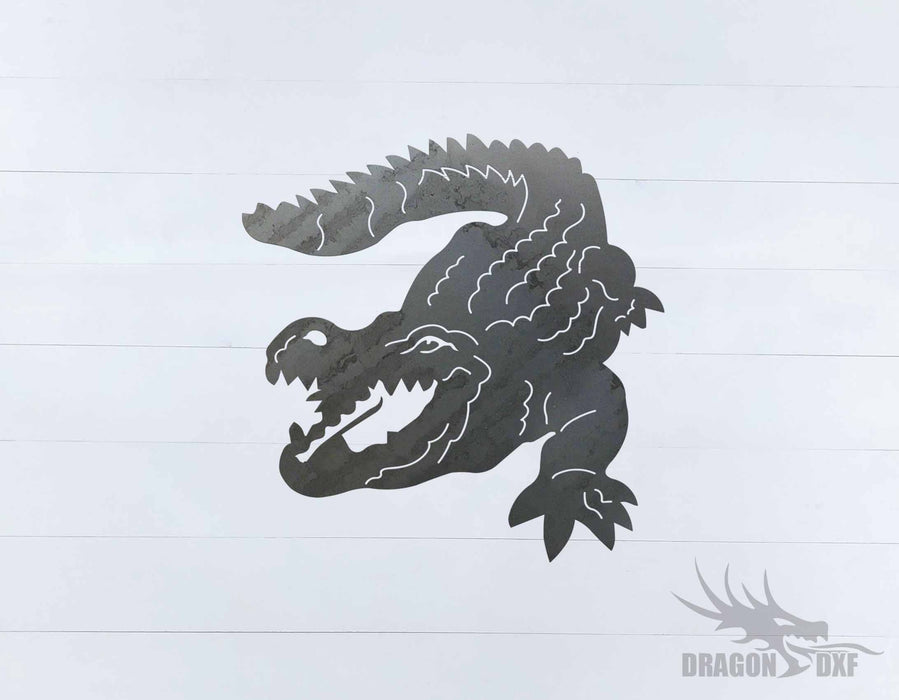 Animal - Crocodile Design- DXF Download