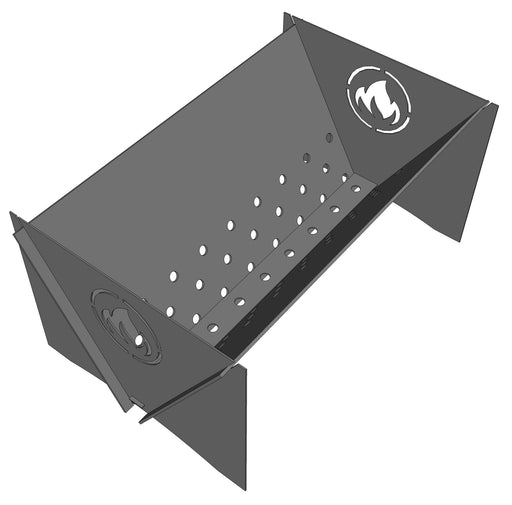 Collapsible Firepit V - Cut and Assemble - DXF Downloadable File