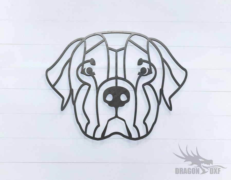 Rottweiler - Geometric - Deco - Animals -  DXF Download