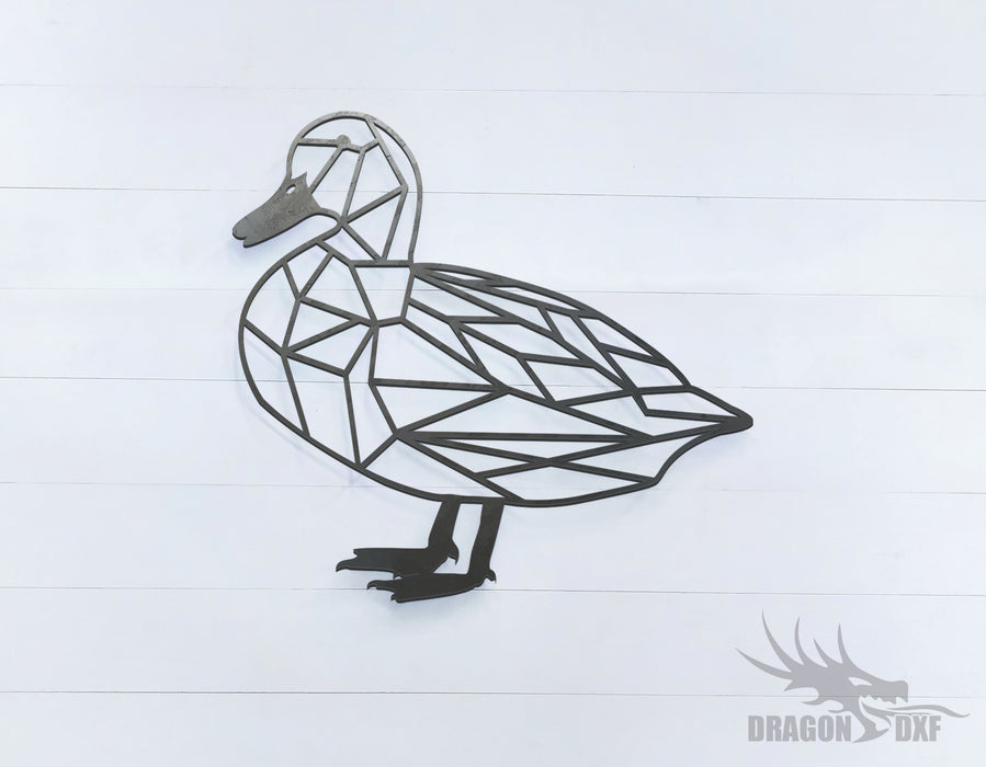 Duck - Geometric - Deco - Animals -  DXF Download