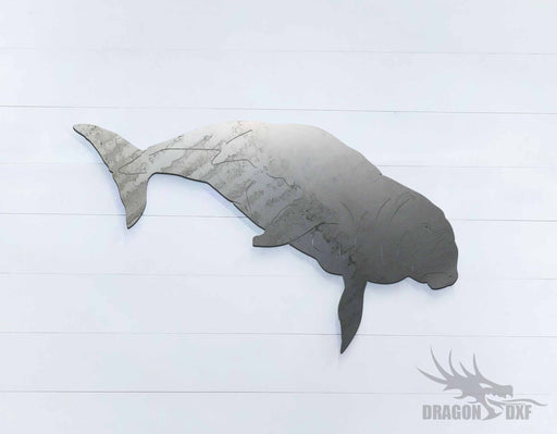 Australian Animals - Dugong - DXF Download