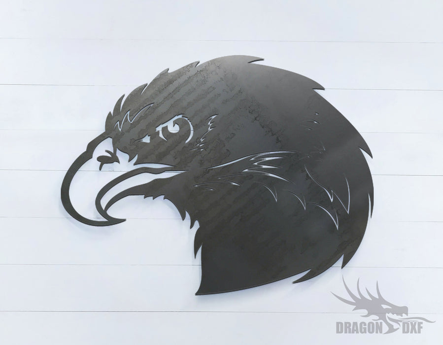 Eagle facing left - Zoo Animals -  DXF Download