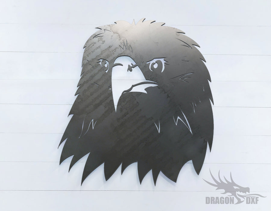 Eagle facing front - Zoo Animals -  DXF Download