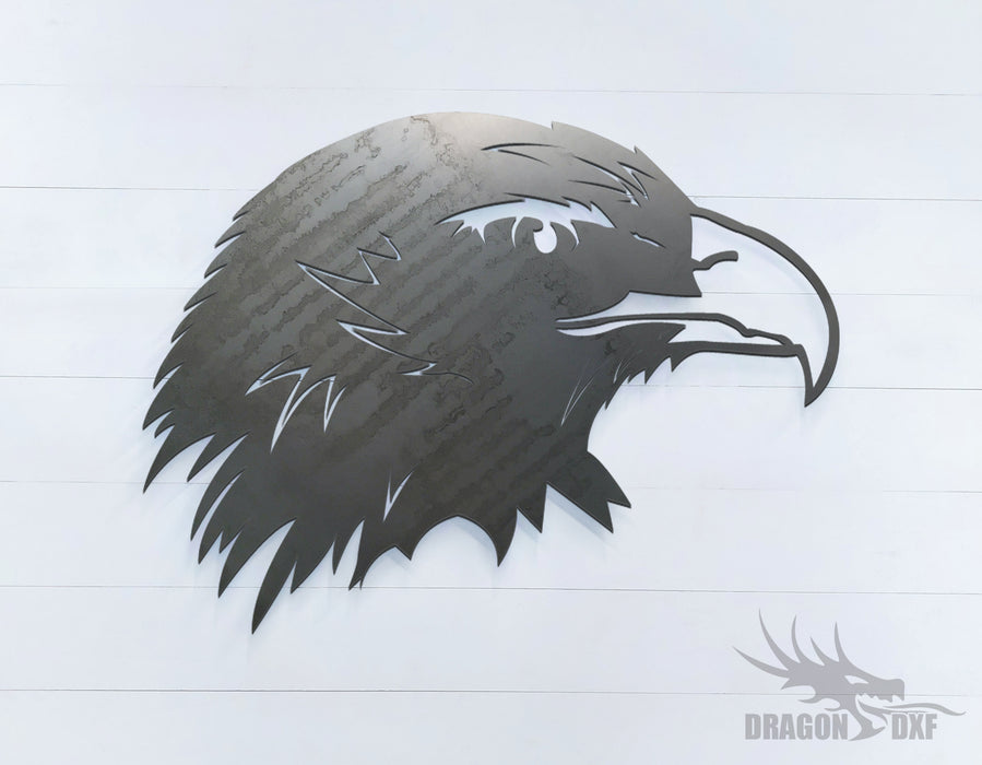 Eagle facing right - Zoo Animals -  DXF Download