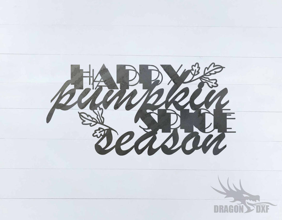 Fall Season Design 19 - DXF Download