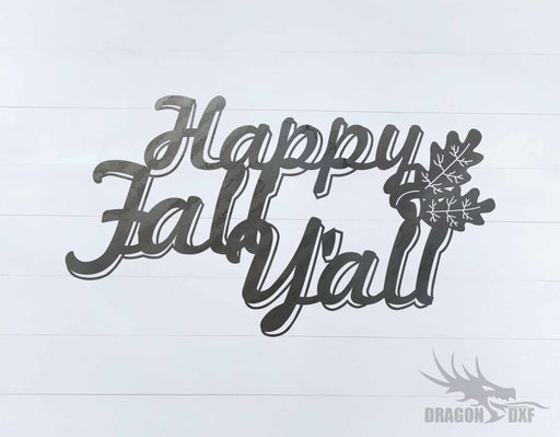 Fall Season Design 3 - DXF Download