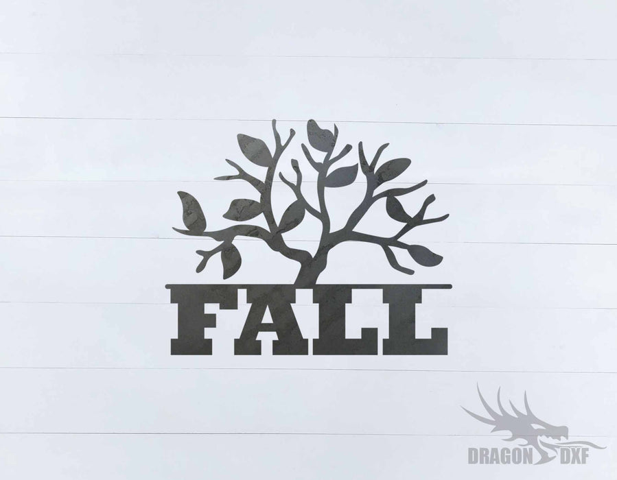 Fall Season Design 52 - DXF Download