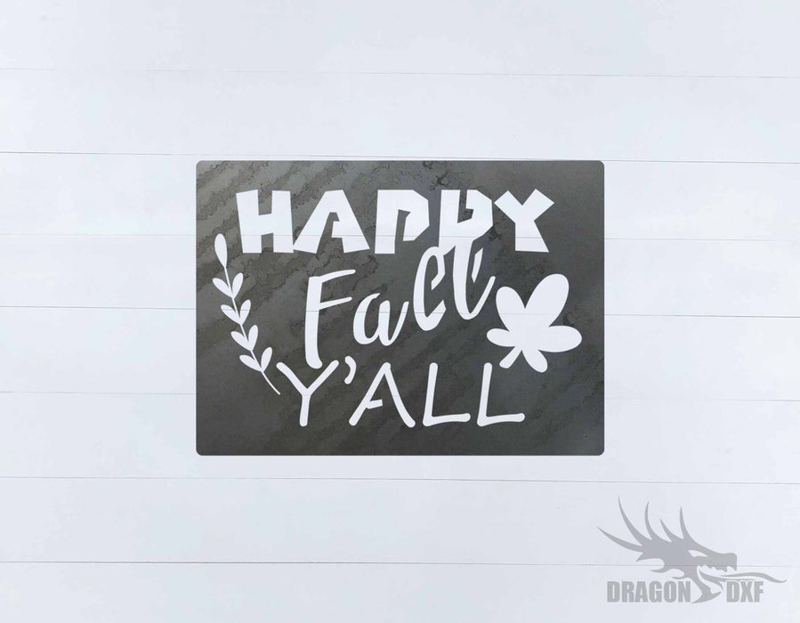 Fall Season Design 55 - DXF Download