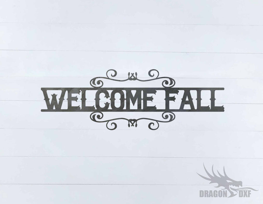 Fall Season Design 68 - DXF Download