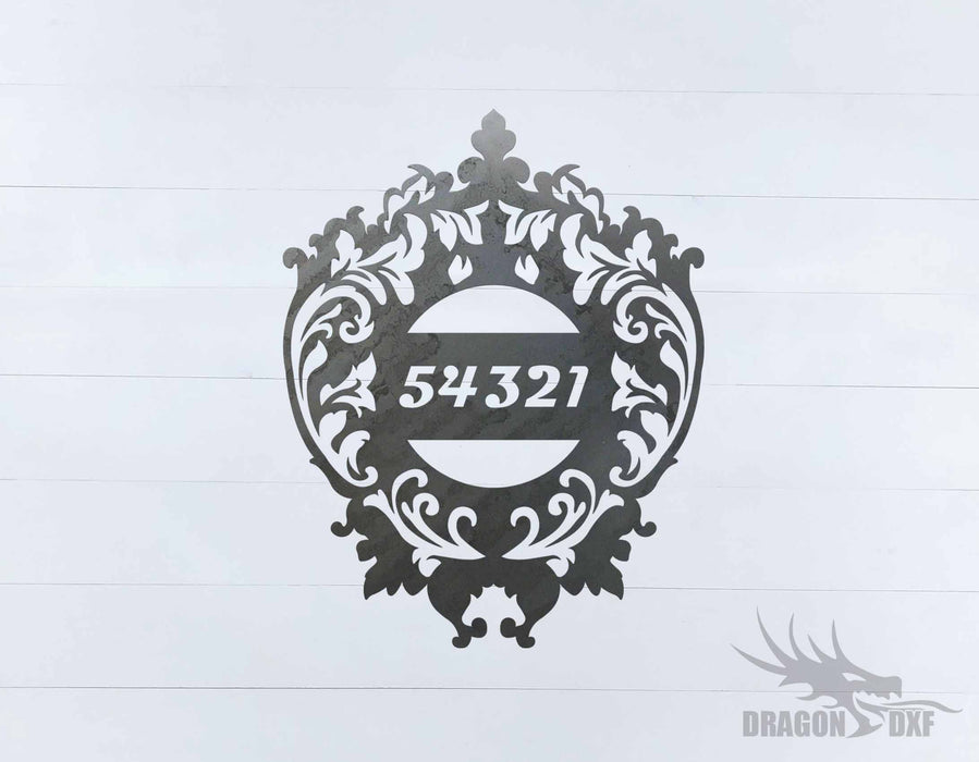 Filigree House No 1 - DXF Download