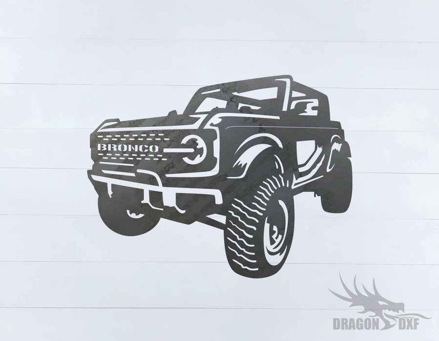 Ford Bronco 2021 2 Door 3 - DXF Download