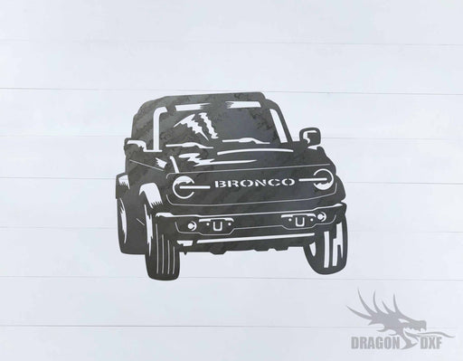 Ford Bronco 4 Door 1 - DXF Download