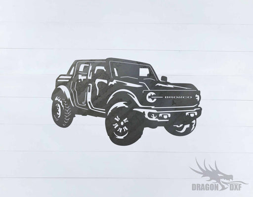Ford Bronco 4 Door 2 - DXF Download