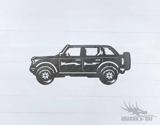 Ford Bronco 4 Door 3 - DXF Download