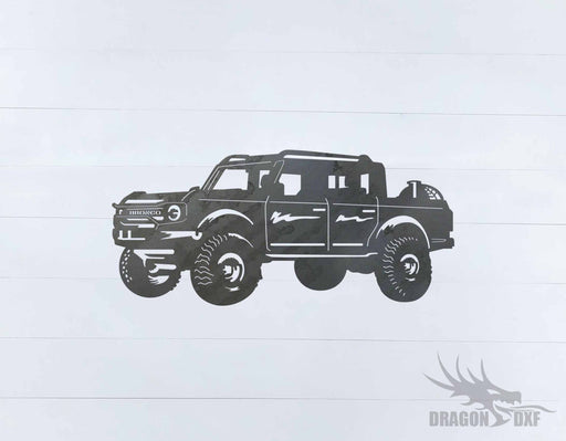 Ford Bronco 4 Door 4 - DXF Download