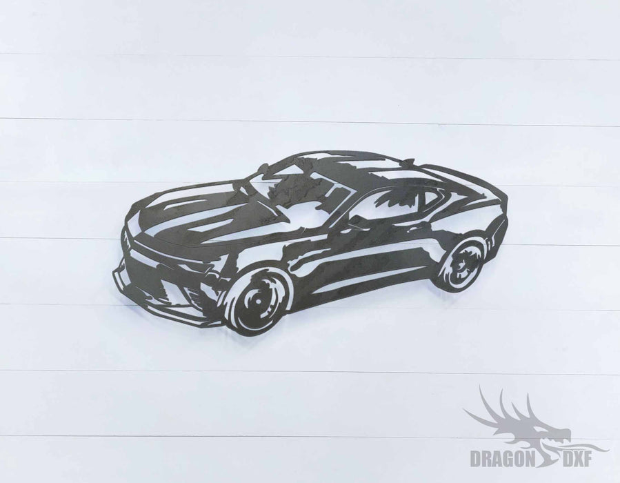 Ford Mustang - DXF Download