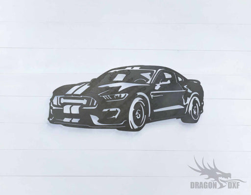 Ford Mustang Bullitt - DXF Download