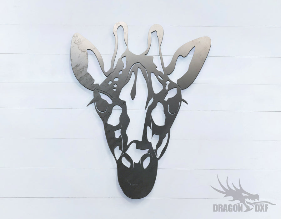 Giraffe - Zoo Animals -  DXF Download