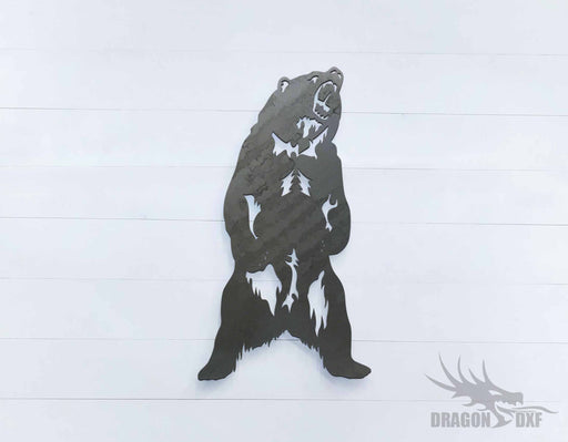 Grizzly Bear - DXF Download