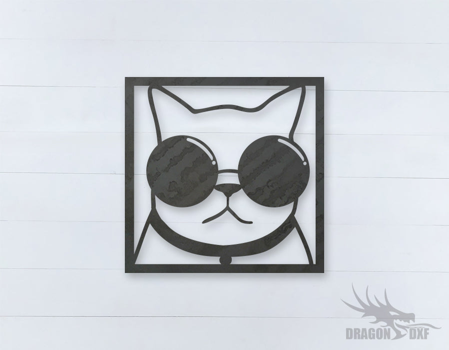 Home Decor Cat Design 4  - DXF Download