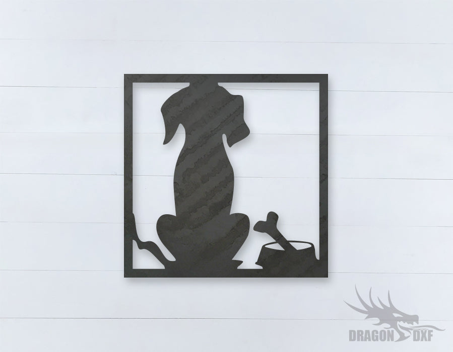 Home Decor Dog Design 4  - DXF Download
