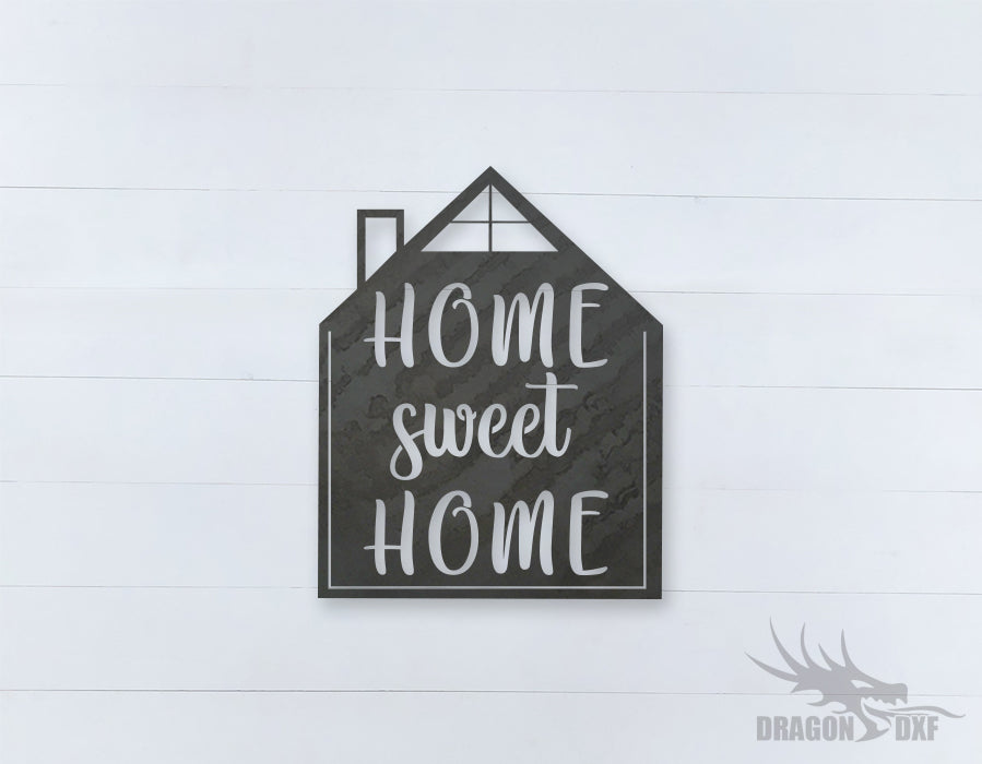 Home Sweet Home Design 10 - DXF Download