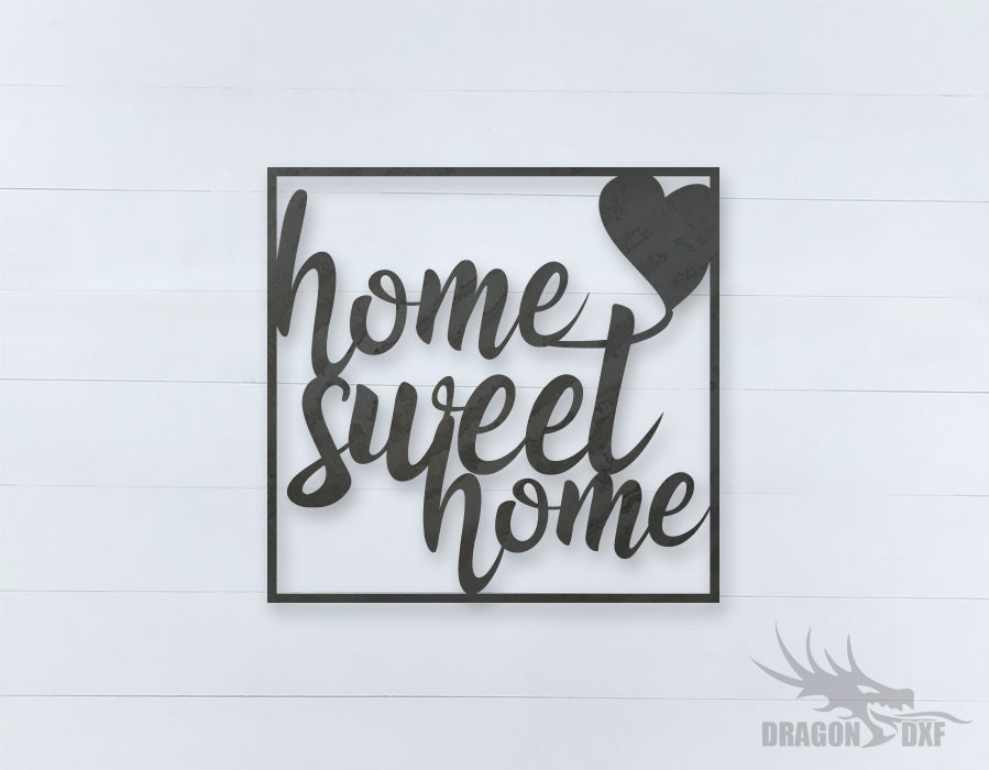 Home Sweet Home Design 1 - DXF Download