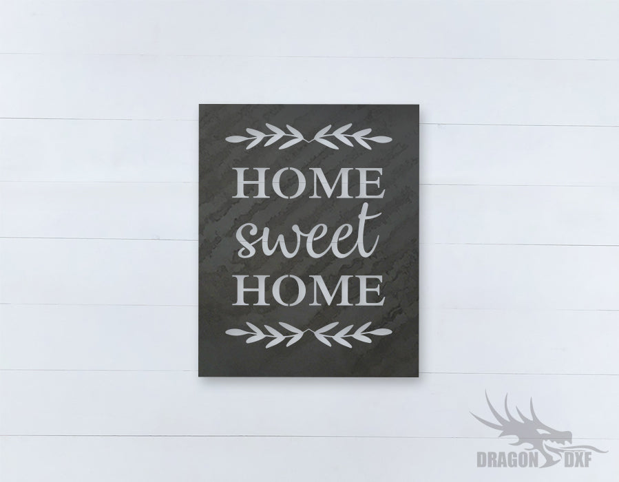 Home Sweet Home Design 7 - DXF Download