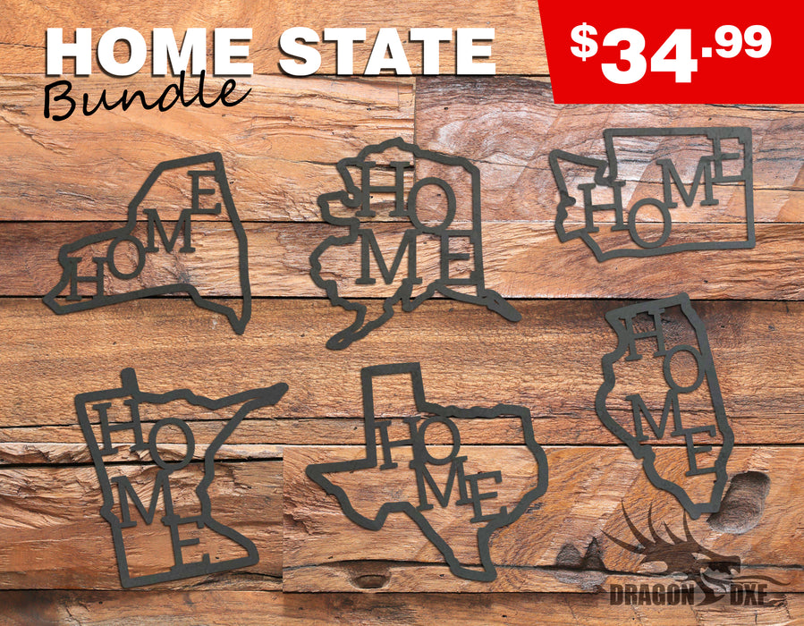 Home State Bundle - DXF Download
