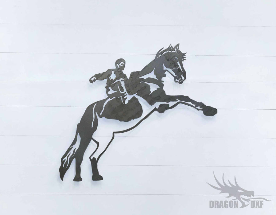 Horse 1 - DXF Download