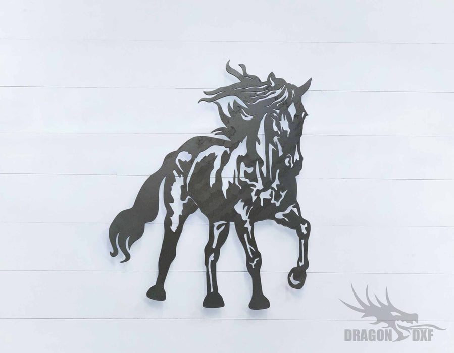 Horse 4 - DXF Download