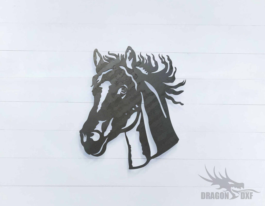 Horse Head 3 - DXF Download