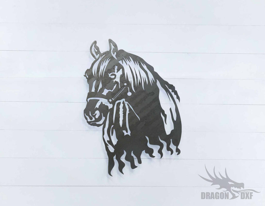 Horse Head 5 - DXF Download