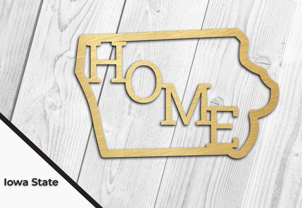 Home is IOWA. Home State DXF Download