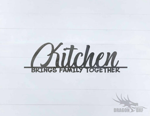 Kitchen Wall Decor 38 -  DXF Download