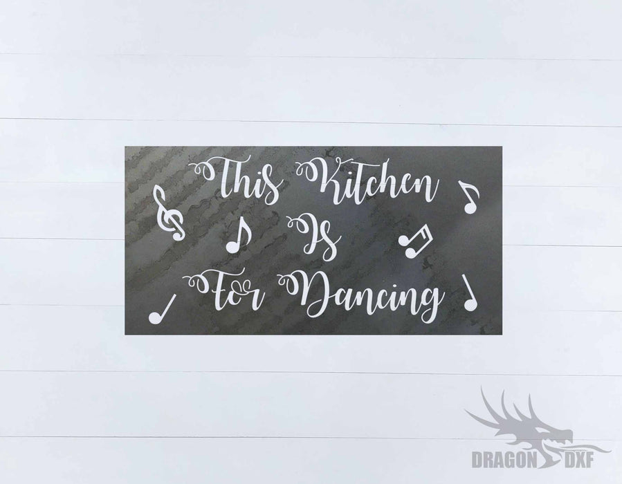 Kitchen Wall Decor 7 -  DXF Download