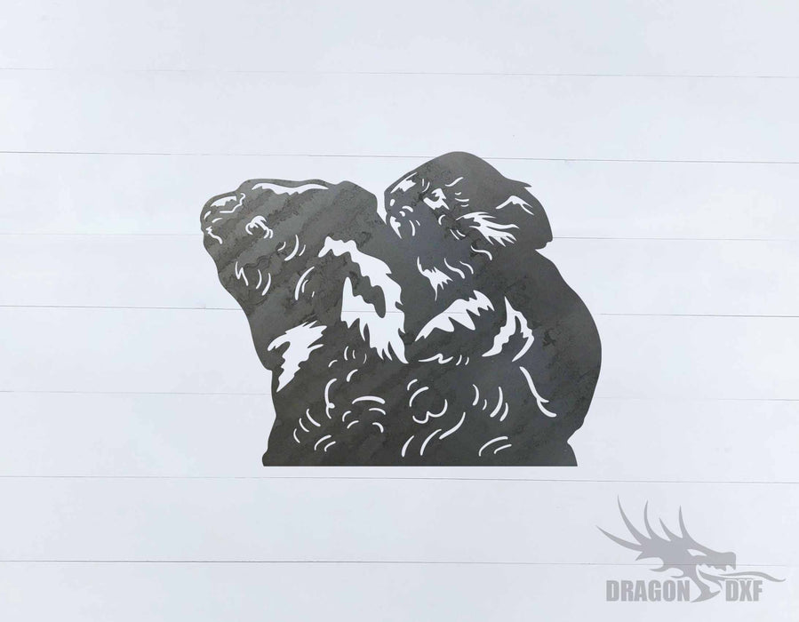 Animal - Koala 3 Design - DXF Download