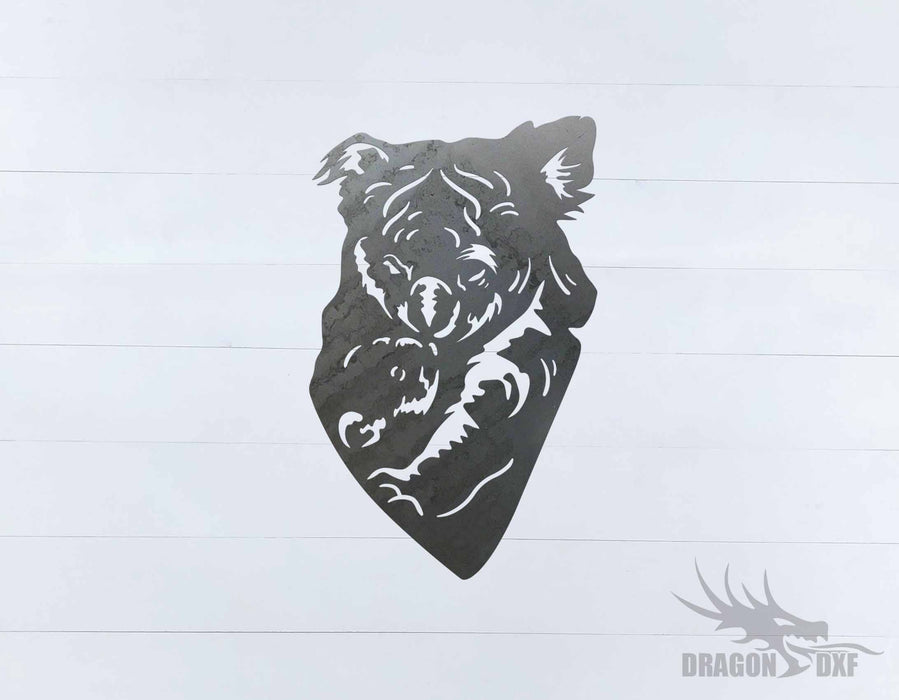 Animal - Koala 5 Design - DXF Download