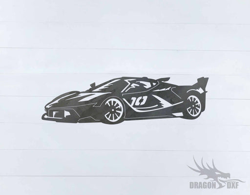 Top Car Design - LaFerrari FXX - DXF Download