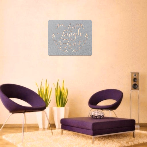 Live-Laugh-Love - Home Decor -  DXF Download
