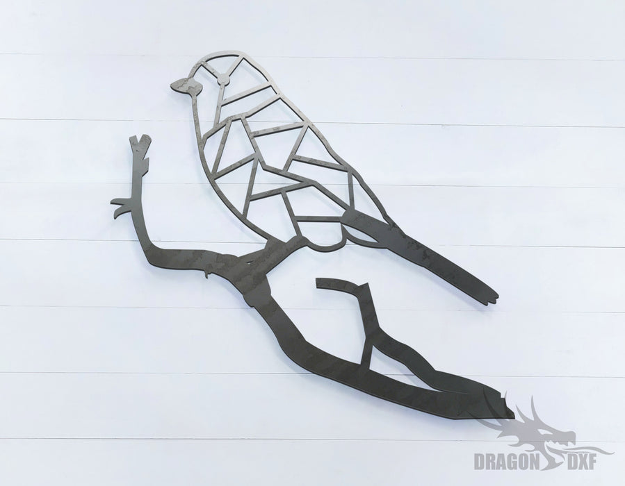 Love Bird - Geometric - Deco - Animals -  DXF Download