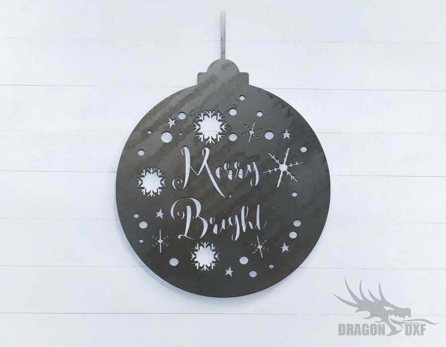Merry Bright - DXF Download