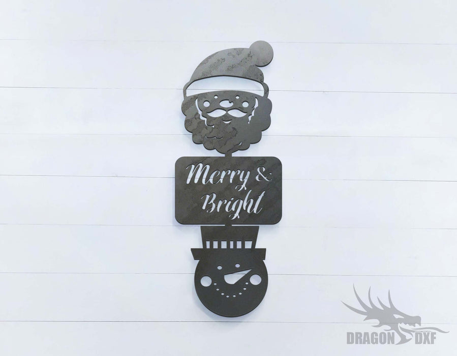 Merry and Bright  - DXF Download