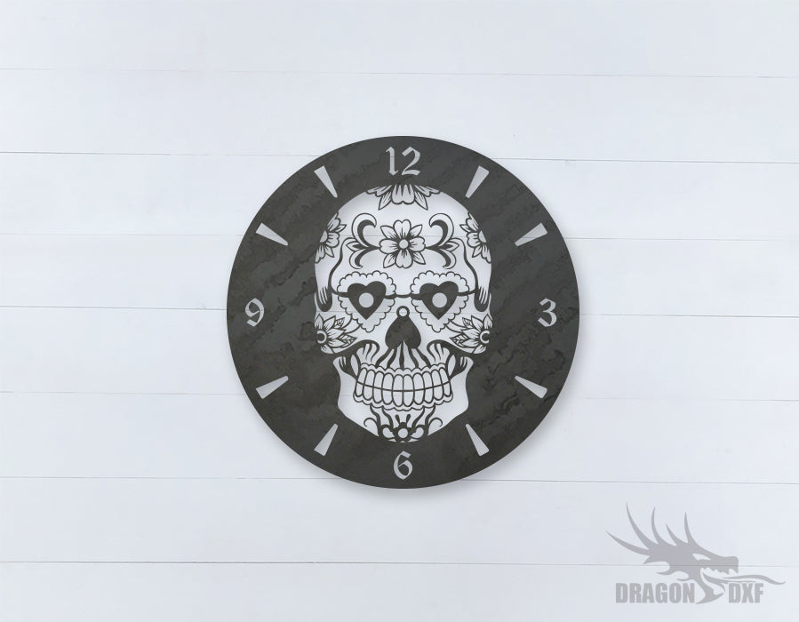 Mexican Clock Design 1  - DXF Download